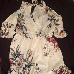 Fashion to Figure Other - Floral Print Romper